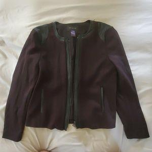 Ann Taylor Factory Zip Up Jacket